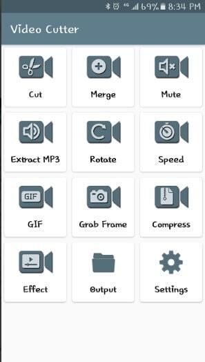 Videos zusammenführen auf android - Easy Video Cutter