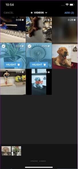 video merger app for iphone - Quik