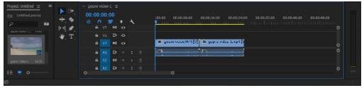 merge videos using Premiere