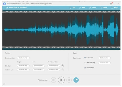 Online Audio Joiner - APowersoft