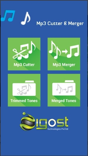 application de fusion audio - MP3 Cutter & ; Fusion