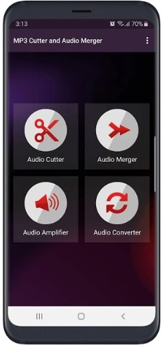 application de fusion audio - MP3 Cutter and Audio Merger
