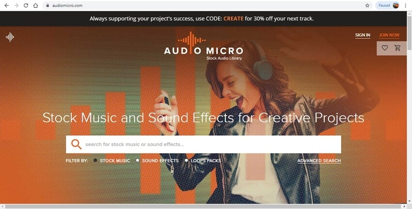 10 sound effects sites - AudioMicro