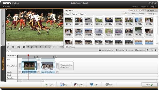 video editors for beginners - Nero