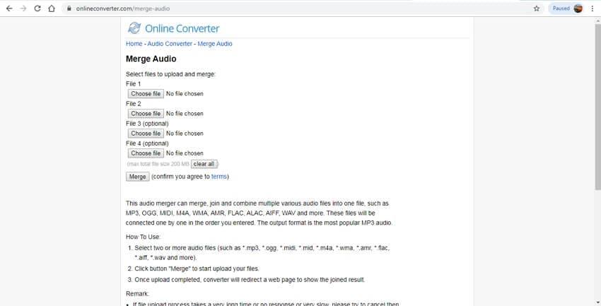 online wav joiner - Online Converter