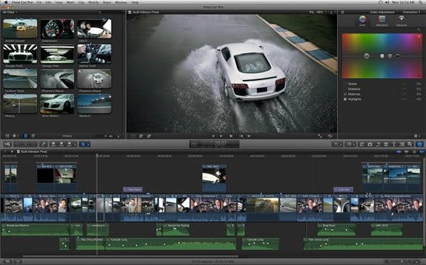 final cut pro video editor