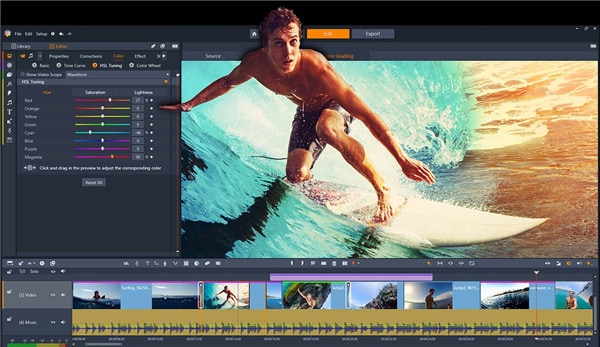 pinnacle studio video editor