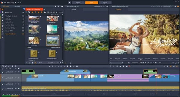cyberLink video editor
