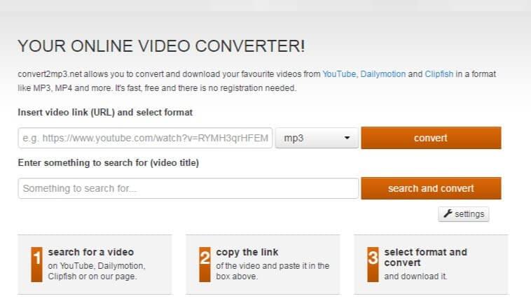 convertisseur en ligne vimeo vers mp3