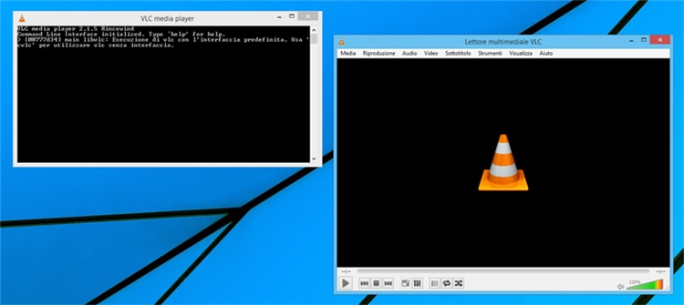 vlc command line