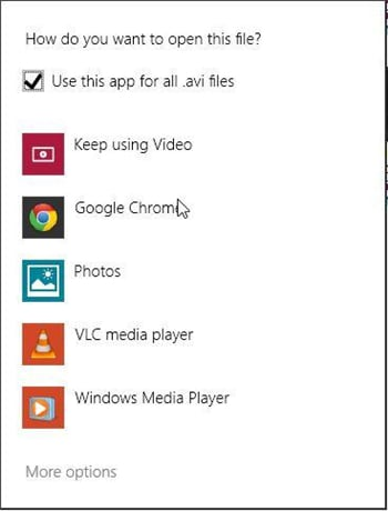 replace xmbc player with vlc