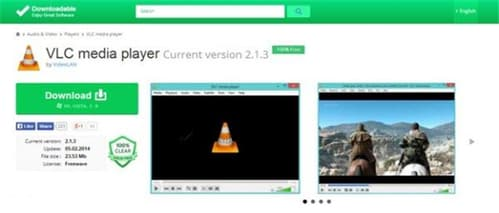 download vlc to play mts