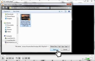 add mts files to vlc