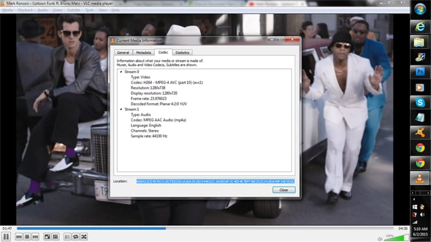play youtube video vlc