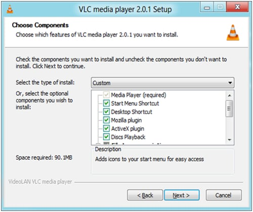 vlc on windows 8