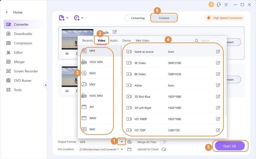 convert videos with VLC alternative