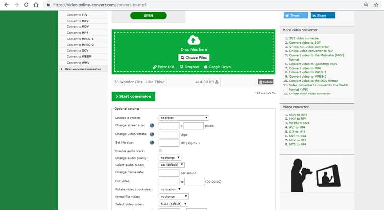 online vob converter - Online Convert