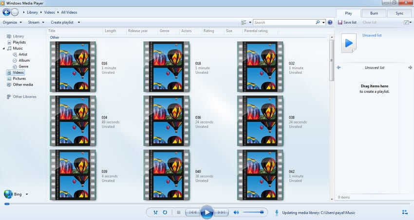 Play VOB Files with Windows Media Player