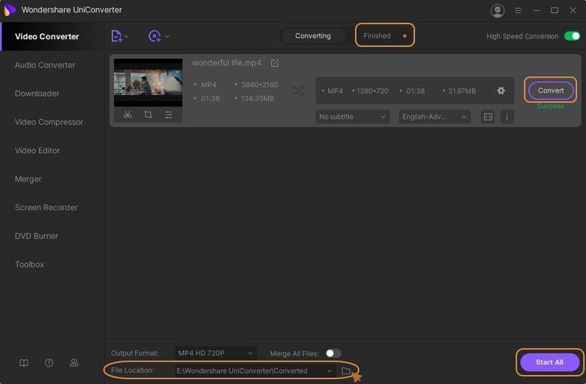convert gopro video