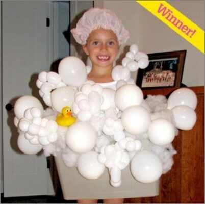 Halloween Costume Ideas  - Walking Bathtub Halloween Costumes