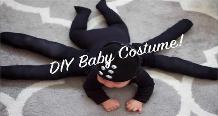 Halloween Costume Ideas  - Cute Spider Baby Halloween Costume