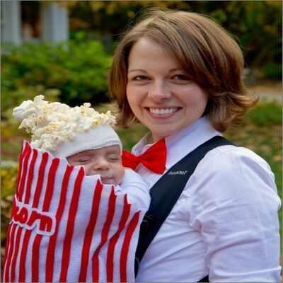 Halloween Costume Ideas  - The Baby Popcorn Halloween Costume