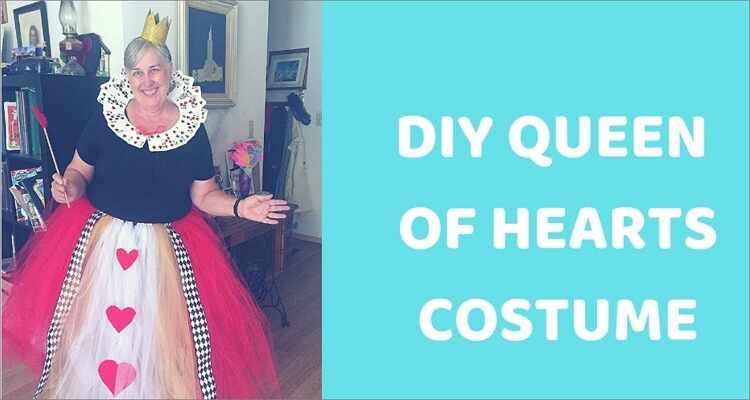 Halloween Costume Ideas  - Queen of Hearts Halloween Costume