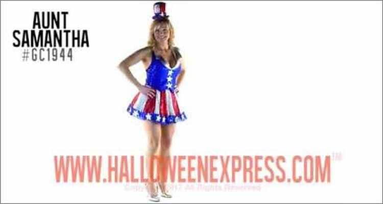 Halloween Costume Ideas  - Patriotic Popsicle Costume