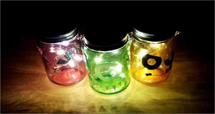 Halloween Costume Ideas  - Firefly Jar Costume