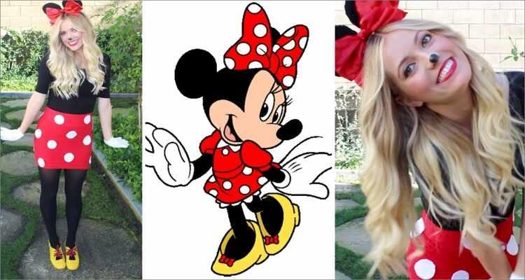 Halloween Costume Ideas  - Minnie Mouse Costume