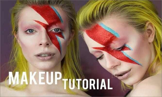 Halloween Makeup Ideas - David Bowie