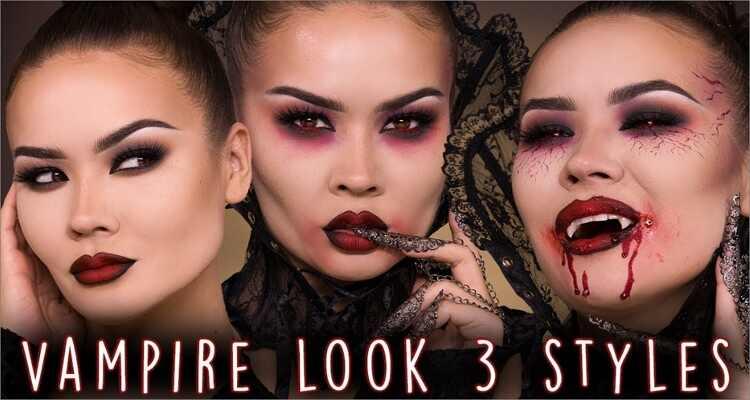 Halloween Makeup Ideas - Vampire Halloween Makeup