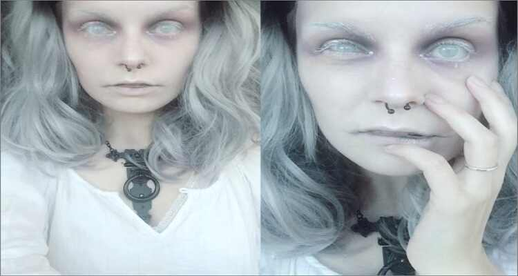 Halloween Makeup Ideas - Ghost Makeup
