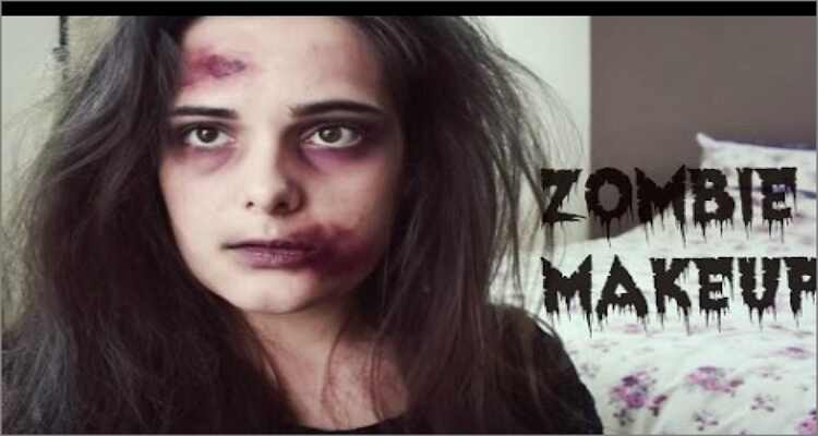 Halloween Makeup Ideas - Zombie Halloween Makeup