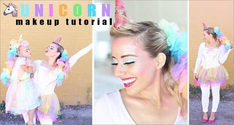 Halloween Makeup Ideas - Unicorn Makeup