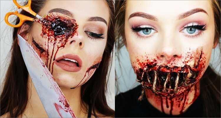Halloween Makeup Ideas - Scary Halloween Makeup