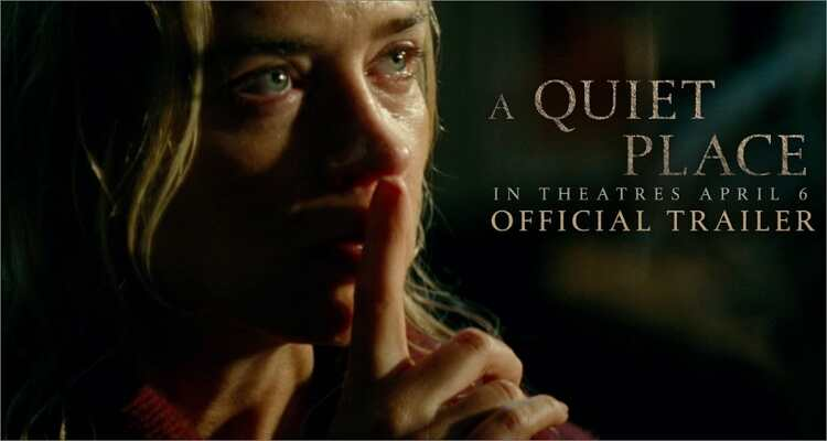 Halloween film you can't miss - A Quiet Place (2018)