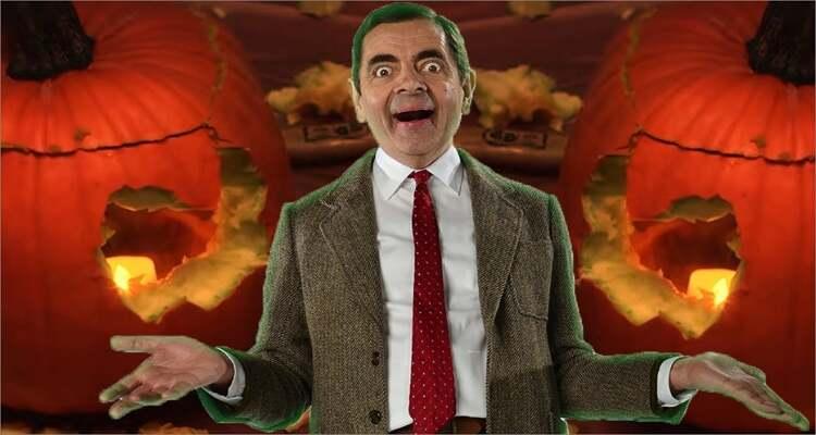 Ideen zum Schnitzen von Halloween-Kürbissen - Halloween Kürbisschnitzen mit Mr. Bean