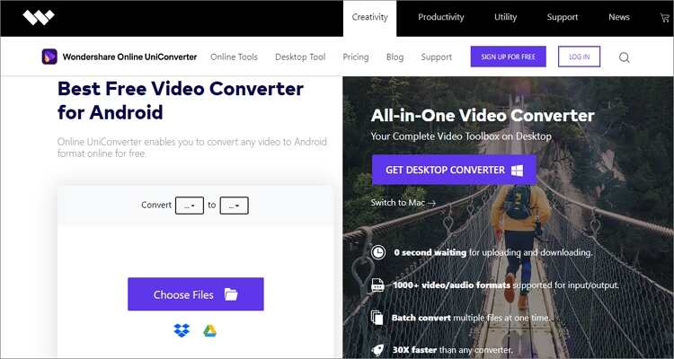 Huawei Honor 20/20 Pro Free Converter - Online UniConverter