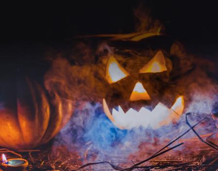 Halloween Kürbis Schnitz-Ideen