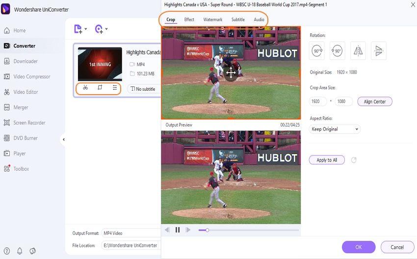 edit recording video easily