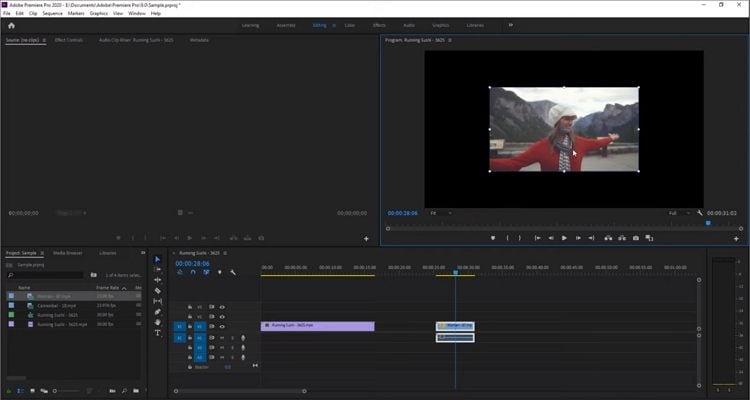 premiere pro to edit sports videos