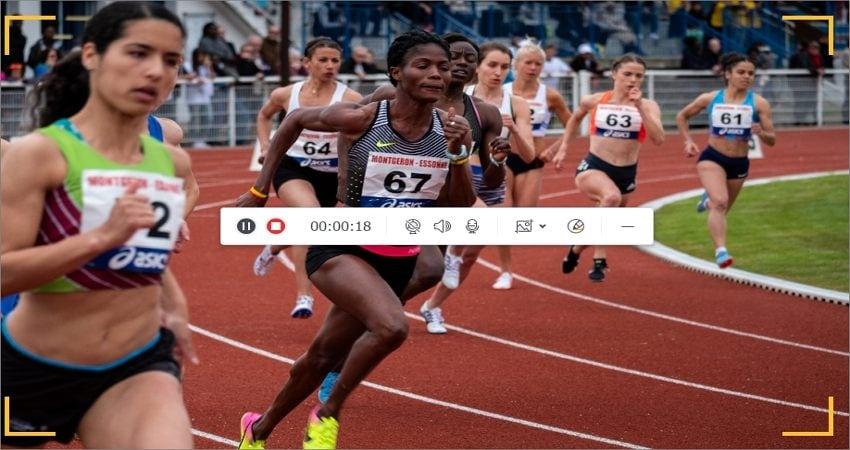record tokyo olympics start recording