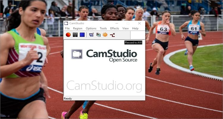 use camstudio to record olympics