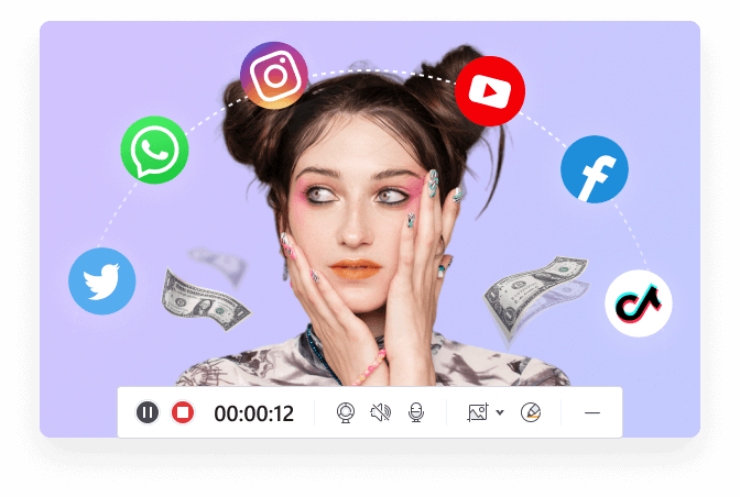 make money from makeup video
