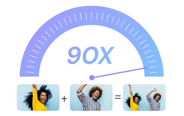 Combinar videos 30 veces