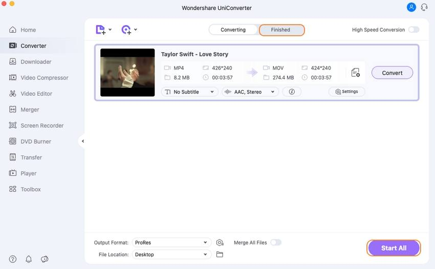 start wmv to imovie conversion