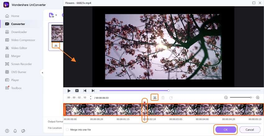 clip iphone video