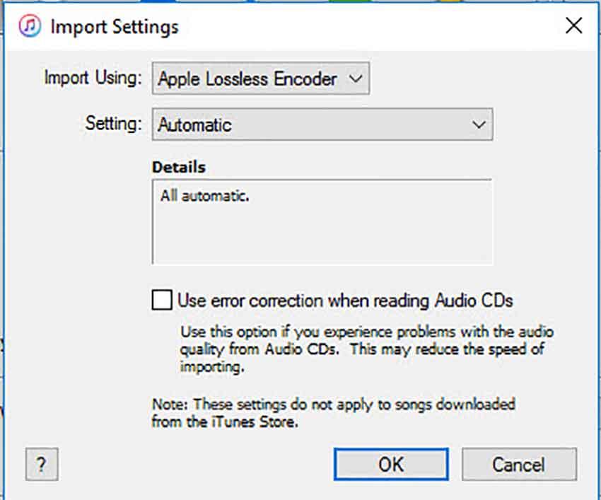 import setting