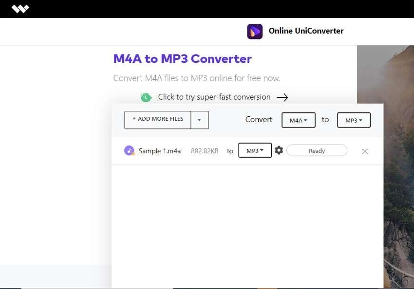 wondershare online free video converter